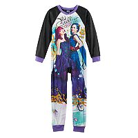 Disney's Descendants Mal & Evie Girls 6-12 One-Piece Pajamas
