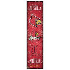 Louisville Cardinals Heritage Banner Wall Art