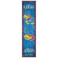 Kansas Jayhawks Heritage Banner Wall Art