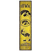 Iowa Hawkeyes Heritage Banner Wall Art