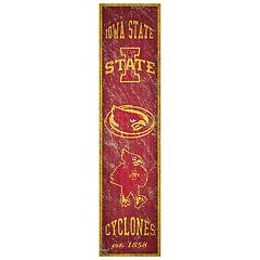 Iowa State Cyclones Heritage Banner Wall Art