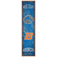 Boise State Broncos Heritage Banner Wall Art