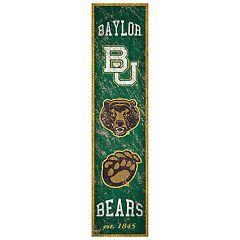 Baylor Bears Heritage Banner Wall Art
