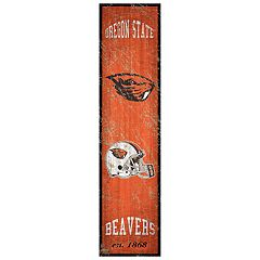 Oregon State Beavers Heritage Banner Wall Art