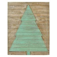 Belle Maison Wood Tree Christmas Wall Decor