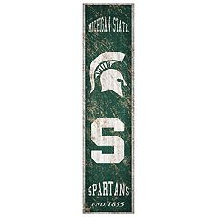 Michigan State Spartans Heritage Banner Wall Art