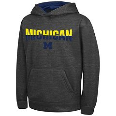 Boys 8-20 Campus Heritage Michigan Wolverines Pullover Hoodie