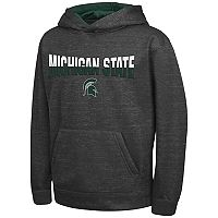 Boys 8-20 Campus Heritage Michigan State Spartans Pullover Hoodie