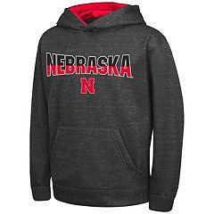 Boys 8-20 Campus Heritage Nebraska Cornhuskers Pullover Hoodie