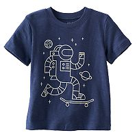 Toddler Boy Jumping Beans® Astronaut Glow-in-the-Dark Graphic Tee
