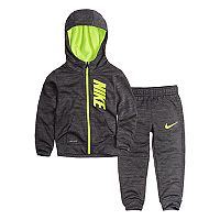 Toddler Boy Nike Therma-FIT Zip Hoodie & Pants Set