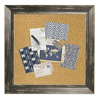 Belle Maison Distressed Framed Cork Board Wall Decor