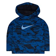 Toddler Boy Nike Abstract Print Therma-FIT Logo Hoodie