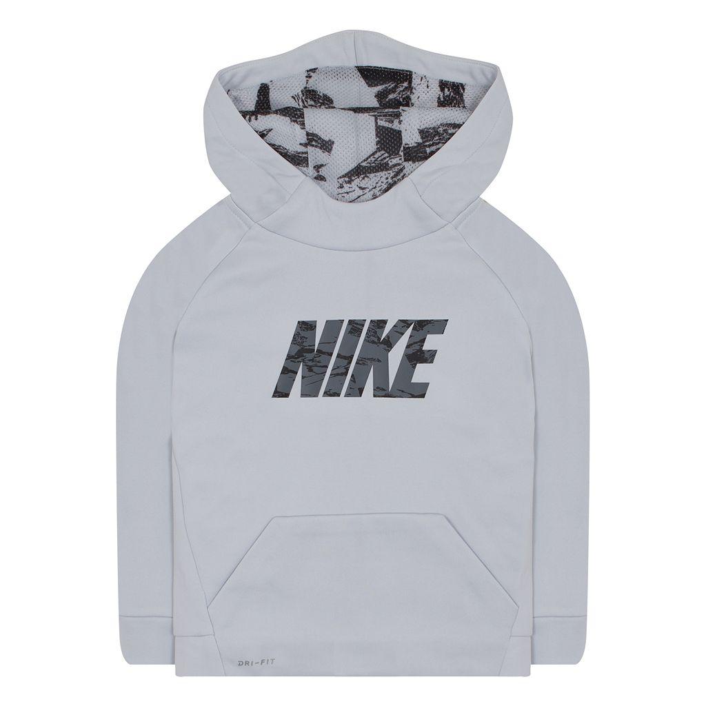Toddler Boy Nike Therma-FIT Logo Hoodie