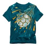 Toddler Boy Nike Explosive Soccer Ball Graphic Tee