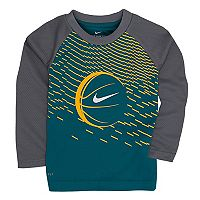 Toddler Boy Nike Raglan Basketball Tee