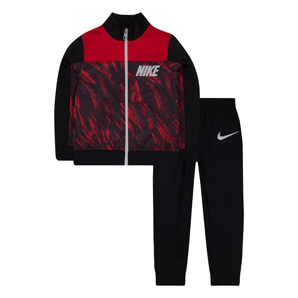 Toddler Boy Nike Abstract Jacket & Pants Track Suit Set