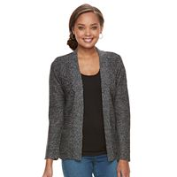 Petite Croft & Barrow® Textured Cardigan