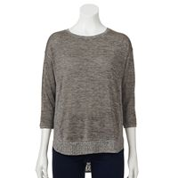 Women's Dana Buchman Marled Ribbed Sweater