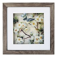 New View Cherry Blossom Bird 1 Framed Wall Art