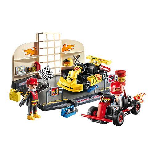 Playmobil Go Kart Garage Playset 6869