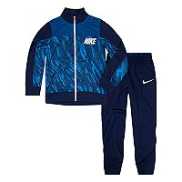 Boys 4-7 Nike Abstract Jacket & Pants Track Suit Set