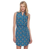 Women's Dana Buchman Sleeveless Shirt Dress
