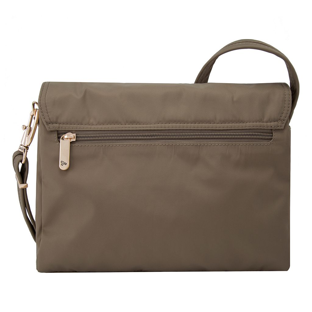 Travelon Anti-Theft Tailored East-West Crossbody Bag