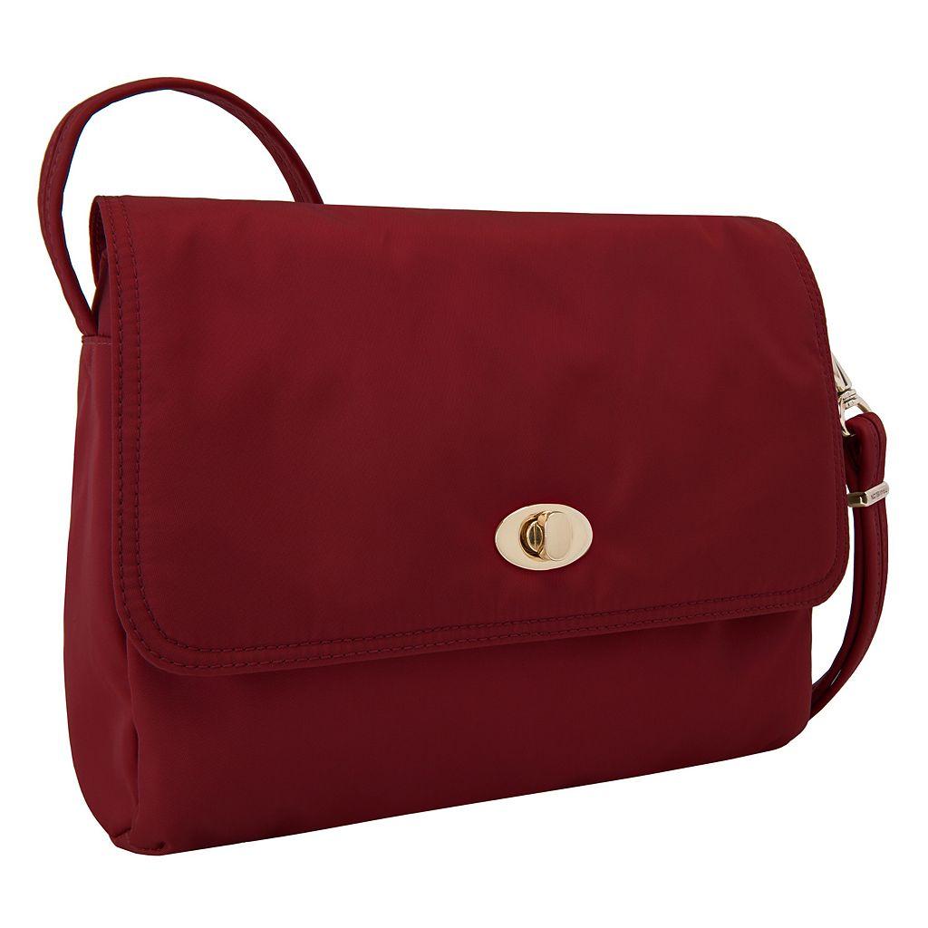 Travelon Anti-Theft Tailored East-West Crossbody Bag