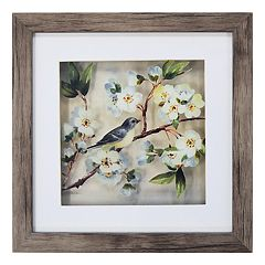 New View Cherry Blossom Bird 2 Framed Wall Art