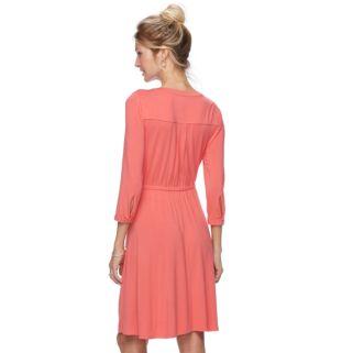 Women's Dana Shirred Buchman Shirtdress