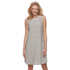 Women's Dana Buchman Trapeze Mockneck Dress
