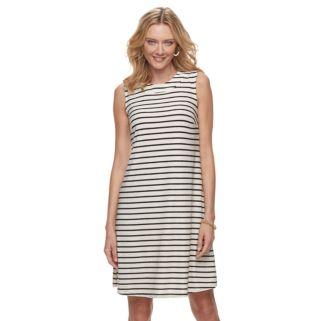 Women's Dana Buchman Trapeze Mockneck Dress