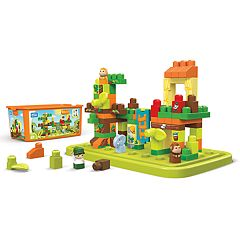 Mega Bloks 88-pc. Jungle Adventures Tub Town