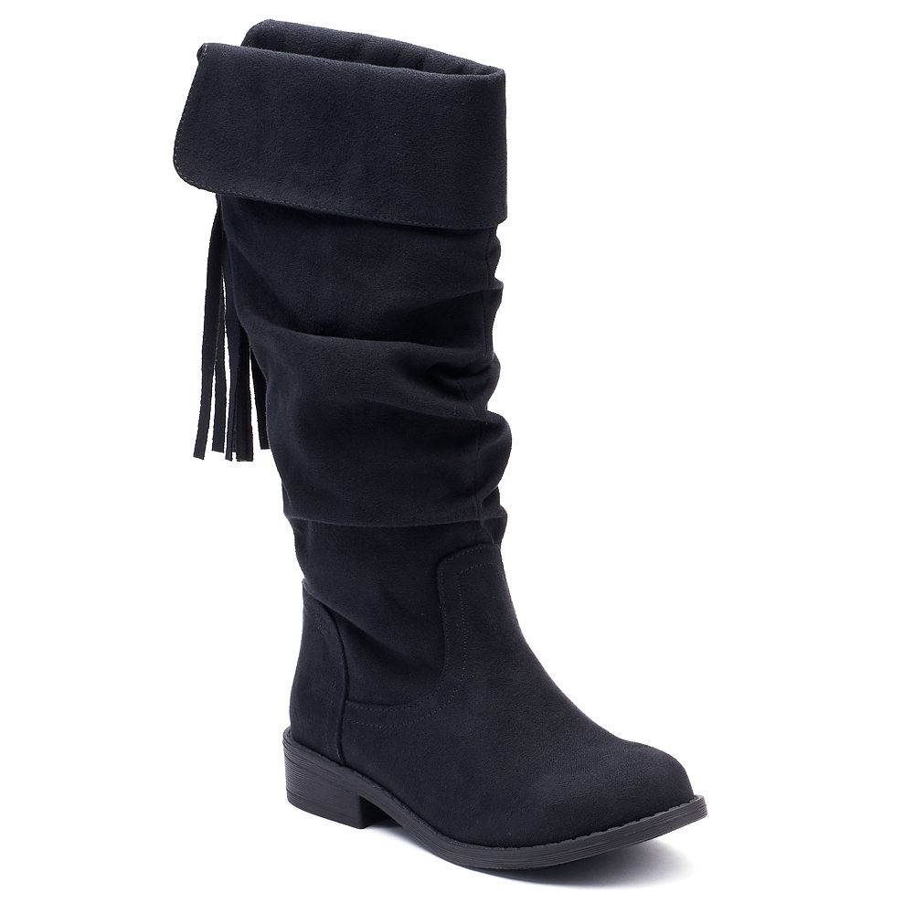 Bathroom scales boots - So Dixie Girls Knee High Boots
