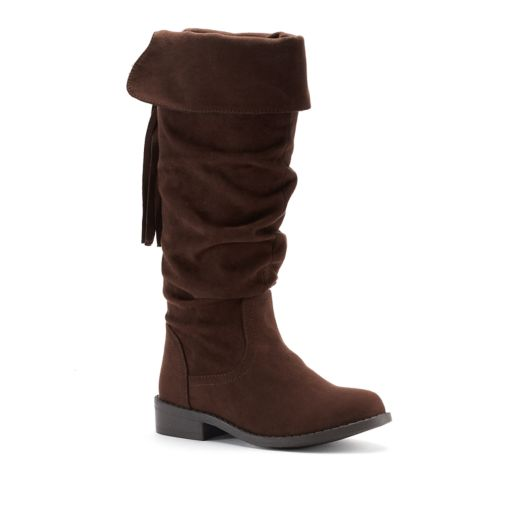 SO® Dixie Girls' Knee High Boots