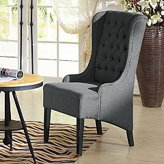 Baxton Studio Vincent Highback Accent Chair