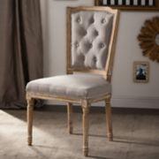 Baxton Studio Estelle Shabby Chic Dining Chair