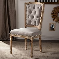 Baxton Studio Estelle Shabby Chic Dining Chair