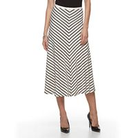 Women's Dana Buchman Mitered Midi Skirt