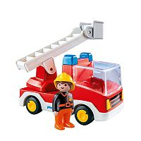 Playmobil Ladder Unit Fire Truck Playset - 6967
