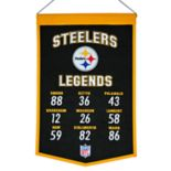 Winning Streak Pittsburgh Steelers Legends Banner