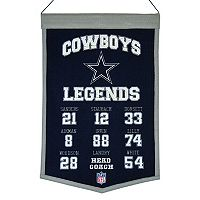 Winning Streak Dallas Cowboys Legends Banner