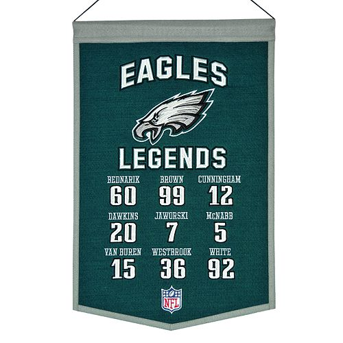 Winning Streak Philadelphia Eagles Legends Banner