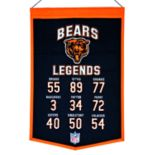 Winning Streak Chicago Bears Legends Banner