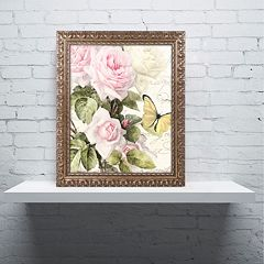 Trademark Fine Art Flora Bella Ornate Framed Wall Art
