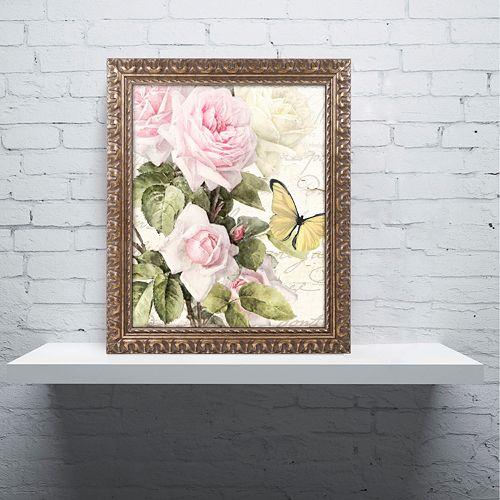 Trademark Fine Art Flora Bella Ornate Framed Wall Art