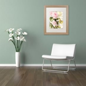 Trademark Fine Art Flora Bella Distressed Framed Wall Art
