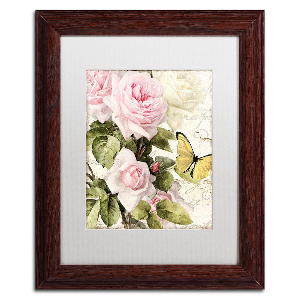 Trademark Fine Art Flora Bella Framed Wall Art