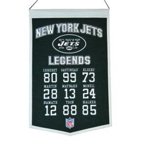 Winning Streak New York Jets Legends Banner